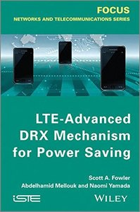 LTE-Advanced DRX Mechanism for Power Saving (Hardcover)-cover