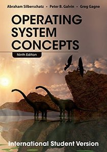 Operating System Concepts, 9/e (IE-Paperback)-cover
