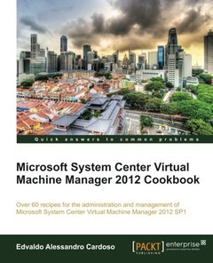 Microsoft System Center Virtual Machine Manager 2012 Cookbook-cover