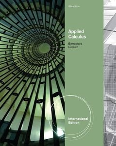 Applied Calculus, 6/e-cover