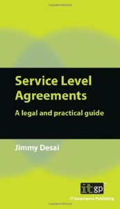 Service Level Agreements: A Legal and Practical Guide (Paperback)-cover