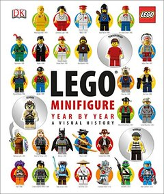 LEGO Minifigure Year by Year: A Visual History (Hardcover)-cover