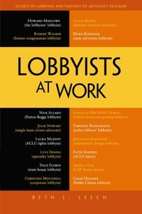 Lobbyists at Work (Paperback)-cover