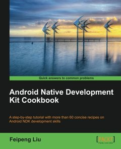 Android Native Development Kit Cookbook (Paperback)-cover