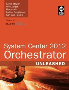 System Center 2012 Orchestrator Unleashed (Paperback)-cover