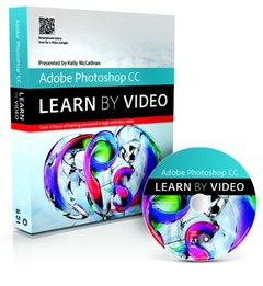 Adobe Photoshop CC: Learn by Video (Paperback)-cover