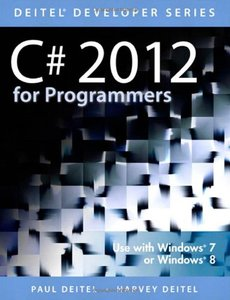 C# 2012 for Programmers, 5/e (Paperback)-cover