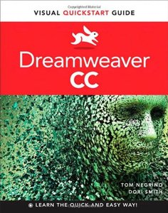 Dreamweaver CC: Visual QuickStart Guide (Paperback)-cover