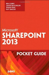 Microsoft SharePoint 2013 Pocket Guide (Paperback)-cover