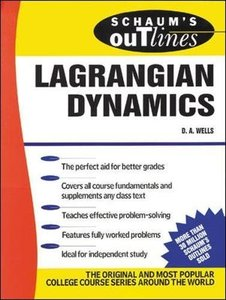 Schaum's Outline of Lagrangian Dynamics (Paperback)