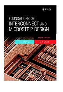 Foundations of Interconnect and Microstrip Design-cover