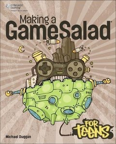 Making a GameSalad for Teens (Paperback)-cover