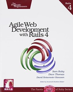Agile Web Development with Rails 4 (Paperback)-cover