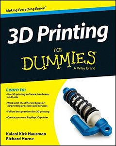 3D Printing For Dummies (Paperback)-cover