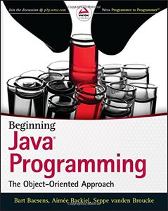Beginning Java Programming: The Object-Oriented Approach (Paperback)-cover