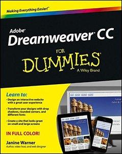 Dreamweaver CC For Dummies (Paperback)-cover