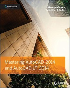 Mastering AutoCAD 2014 and AutoCAD LT 2014: Autodesk Official Press (Paperback)-cover