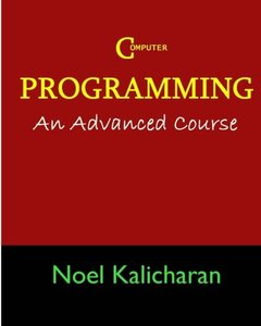 C Programming - An Advanced Course (Paperback)-cover