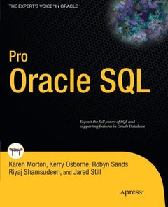 Pro Oracle SQL (Paperback)-cover