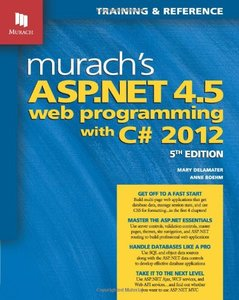 Murach's ASP.NET 4.5 Web Programming with C# 2012, 5/e (Paperback)-cover