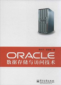 ORACLE 數據存儲與訪問技術-cover