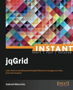 Instant jqGrid-cover