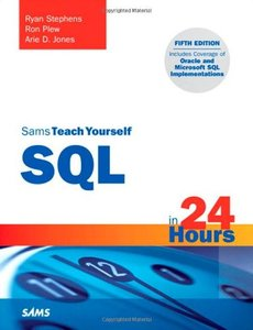 Sams Teach Yourself SQL in 24 Hours, 5/e (Paperback)-cover