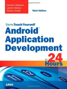 Sams Teach Yourself Android Application Development in 24 Hours, 3/e (Paperback)-cover