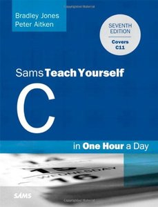 Sams Teach Yourself C Programming in One Hour a Day, 7/e (Paperback)-cover