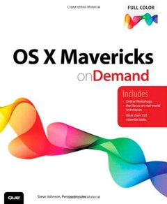 OS X Mavericks on Demand (Paperback)-cover
