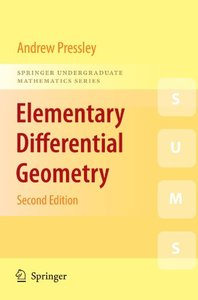 Elementary Differential Geometry (Paperback)-cover
