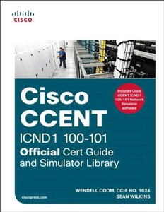 CCENT ICND1 100-101 Official Cert Guide and Simulator Library (Multimedia DVD)-cover