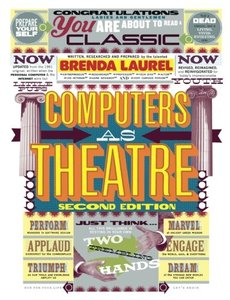 Computers as Theatre, 2/e (Paperback)-cover