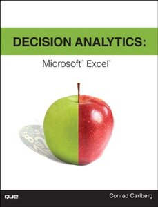 Decision Analytics: Microsoft Excel (Paperback)-cover