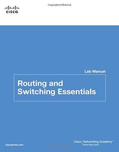 Routing and Switching Essentials Lab Manual (Paperback)-cover