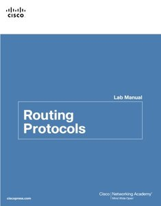 Routing Protocols Lab Manual (Paperback)-cover