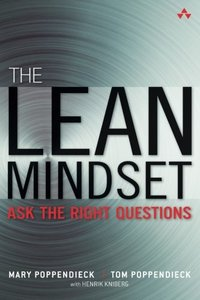 The Lean Mindset: Ask the Right Questions (Paperback)-cover