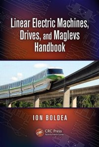 Linear Electric Machines, Drives, and MAGLEVs Handbook (Hardcover)-cover