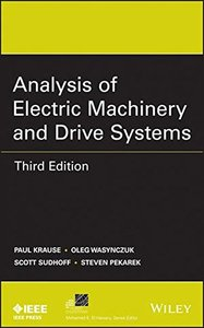 Analysis of Electric Machinery and Drive Systems (Hardcover)-cover