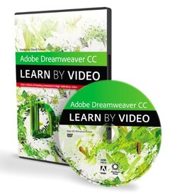 Adobe Dreamweaver CC: Learn by Video (DVD-ROM)-cover