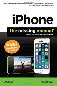 iPhone: The Missing Manual, 7/e (Paperback)-cover