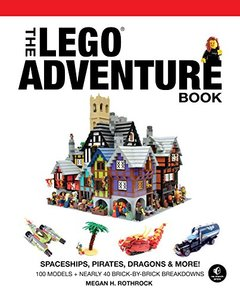 The LEGO Adventure Book, Vol. 2: Spaceships, Pirates, Dragons & More! (Hardcover)-cover