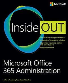 Microsoft Office 365 Administration Inside Out (Paperback)-cover