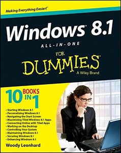 Windows 8.1 All-in-One For Dummies (Paperback)