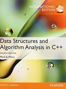 Data Structures and Algorithm Analysis in C++, 4/e (IE-Paperback)-cover
