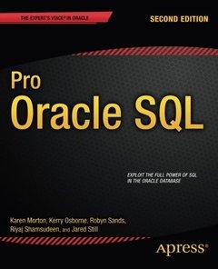 Pro Oracle SQL, 2/e (Paperback)-cover