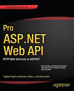 Pro ASP.NET Web API: HTTP Web Services in ASP.NET (Paperback)-cover