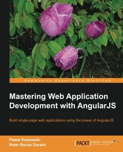 Mastering Web Application Development with AngularJS (Paperback)-cover