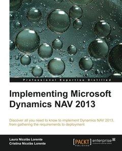 Implementing Microsoft Dynamics NAV 2013-cover