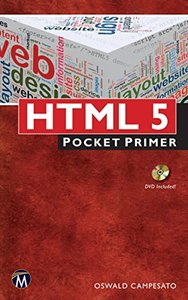 HTML5 Pocket Primer (Paperback)-cover